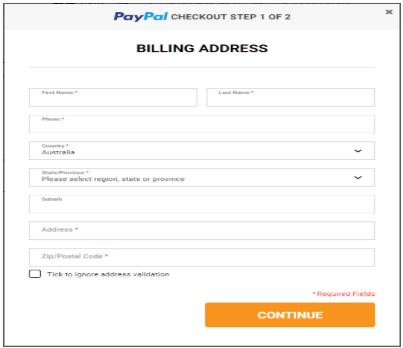 what is billing address postal code